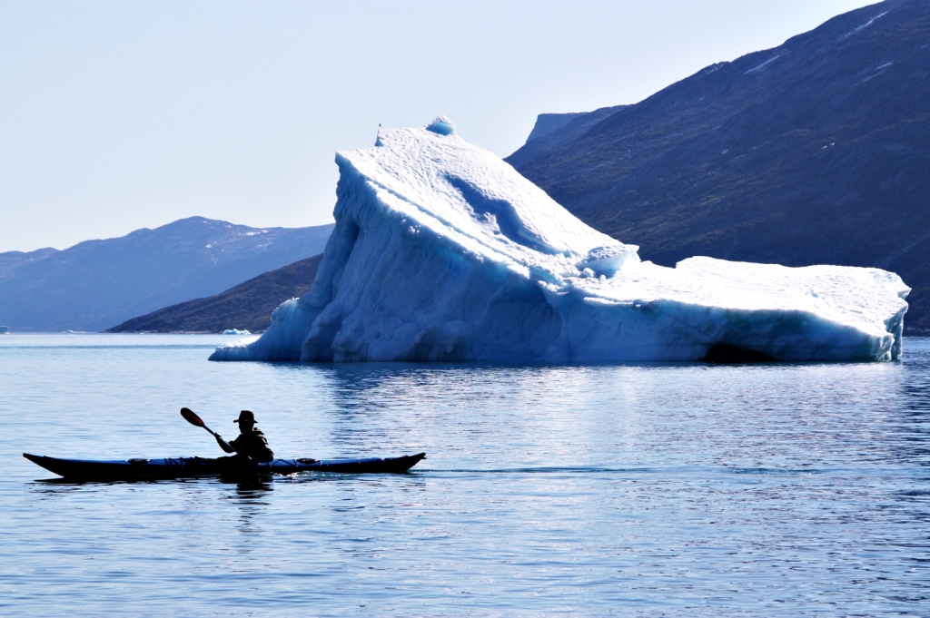 Several kayaking expeditions (here: western Greenland 2011). (Photo: K.S.)